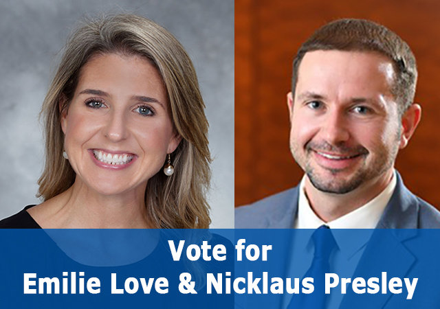 Vote for Emilie Love and Nicklaus Presley